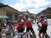 Kurze Pause in der Schweiz