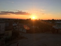 Sonnenuntergang in Trinindad von unserer Terasse