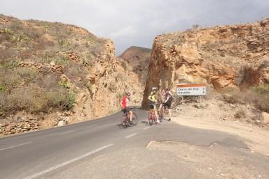 Auf dem Weg nach Las Caletillas