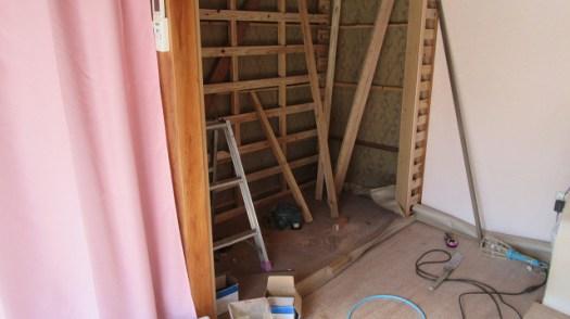 床、壁ボード下地