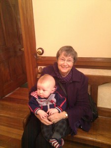 Grandma Bette and Josiah
