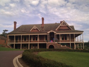 Urrbrae House home of Peter Waite and family