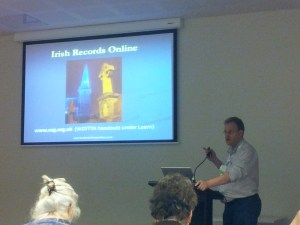 Chris Paton talking about Irish records online