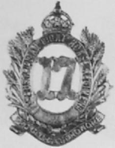 23rd Barossa Light Horse Badge