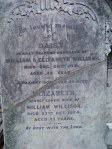 Daisy Willison, Elizabeth Willison nee Reid and William Willison Salisbury Primitive Methodist Cemetery
