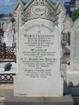 Maria Frederike Buring nee Rubeni, Heinrich Franz Rudolph Buring, Wilhelm Buring and Minna Franziska Buring West Tce Cemetery