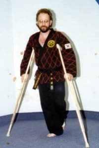 After Forklift Accident - Achilles tendon