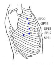 Pressure Point Spleen 21 - Dangerous Pressure Point