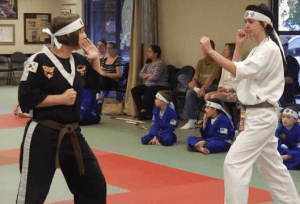 * Learning Martial Arts