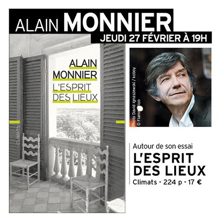 Rencontre avec Alain Monnier
