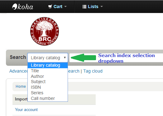 "Quick tip: Add ""barcode"" lookup to your OPAC's search index selection downdown"