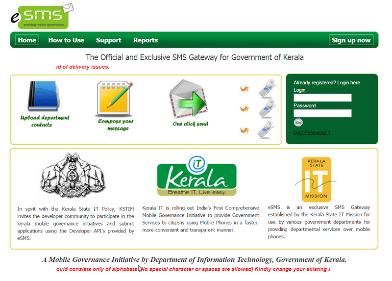 Good news for Koha users in Kerala : SMS Send driver for
