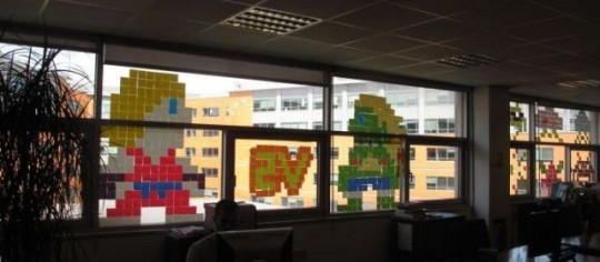la guerre des post-it