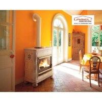 Habillage de foyer poêle à bois : chamotte ou vermiculite