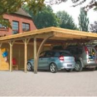 Comment choisir son carport bois: une ossature avec toit monopente, double pente ou adossable?