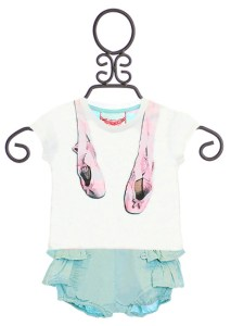 Infant-ballet-tee-and-bloomers-set-front