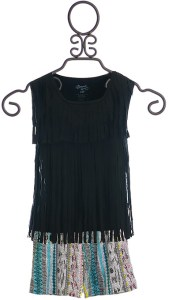 top-in-black-with-aztec-shorts-front