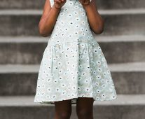 Rylee and Cru Floral Button Back Dress 3