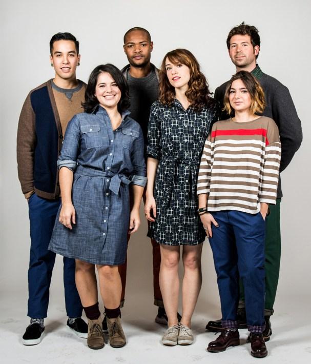 Baristas wearing Benson NY