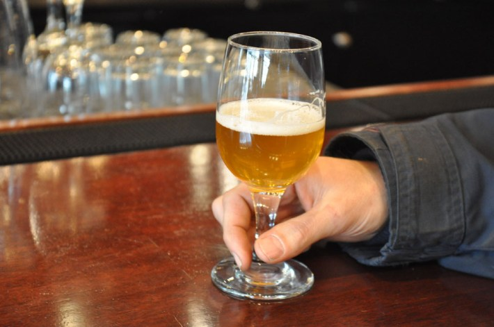 Kaffa IPA from Iron Hill Brewery Chestnut Hill