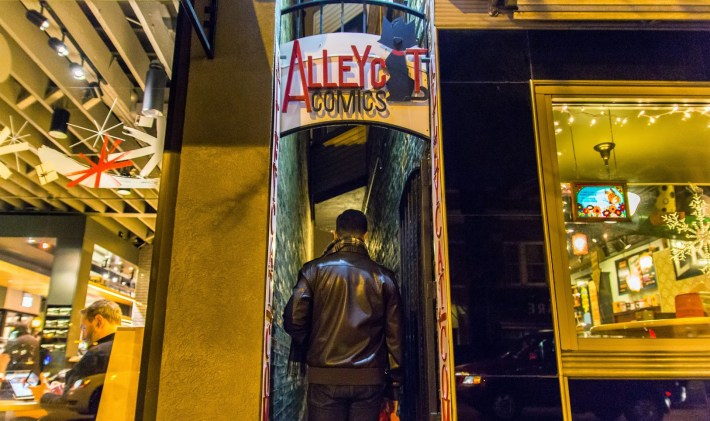 Alley Cat Comics by Ryan Peterson