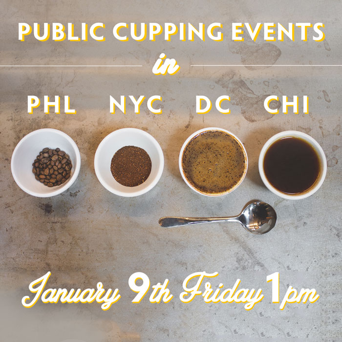 Public Cupping Events