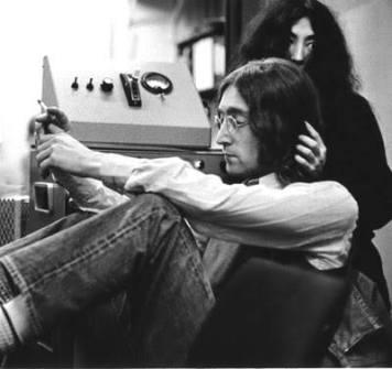 John y Yoko en Abbey Road