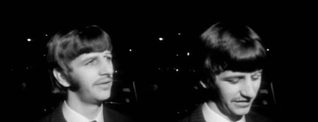 Ringo entrevista a la puerta de EMI