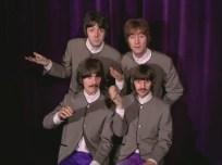 """1:44 """"¿Por qué?"""". Sin comentarios, basta ver las expresiones. Faul de incredulidad, John y Ringo de pena. George ni se molesta."""