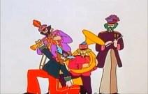 Detalle de la banda sobre el sombrero