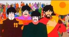 Los Beatles liderando al pueblo en la revolución. Algo que John siempre habría querido, y no como en realidad estaba sucediendo.