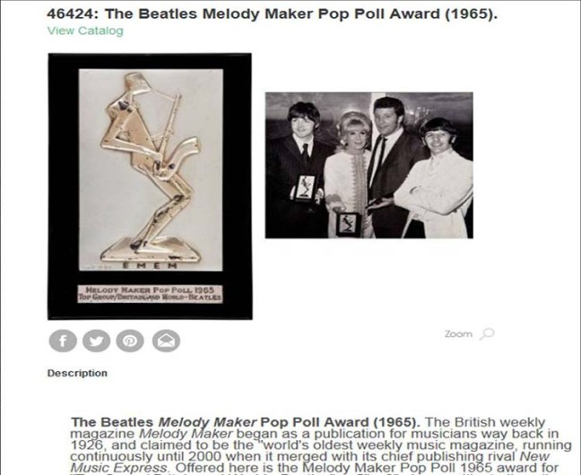 melody maker en 1965