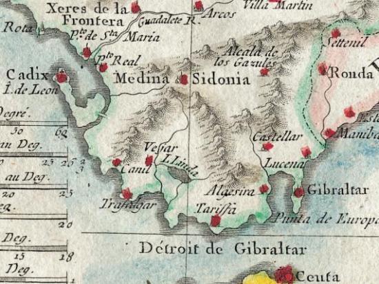 L'Andalousie avec les Royaumes de Grenade et de Murcie mini