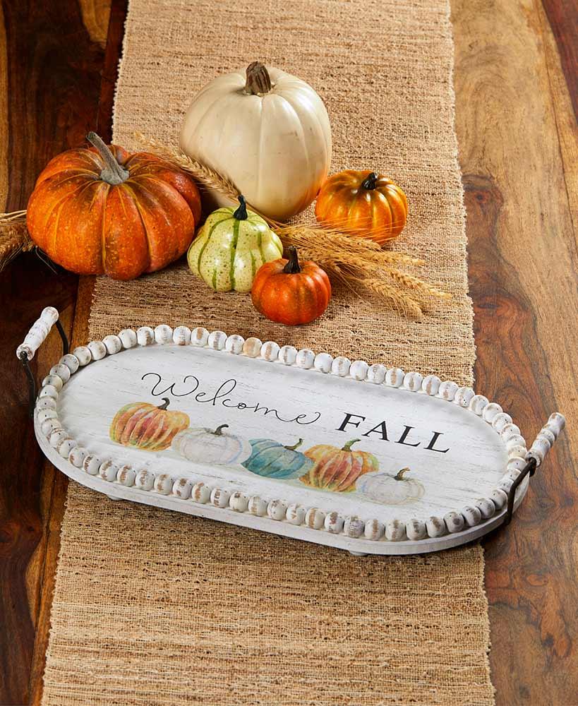 7 coffee table decor ideas for fall