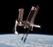 Shuttle ISS NASA