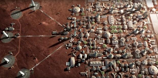 Mars à l'ère du numérique