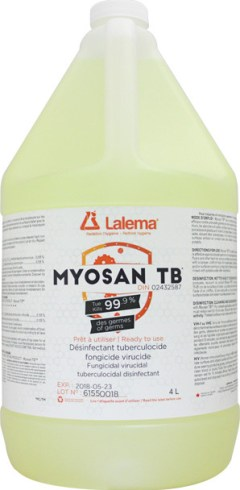 Désinfectant tuberculocide MYOSAN TB