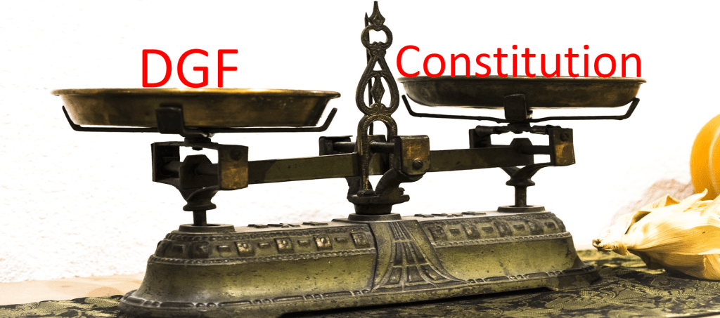 DGF intercommunalité constitution QPC