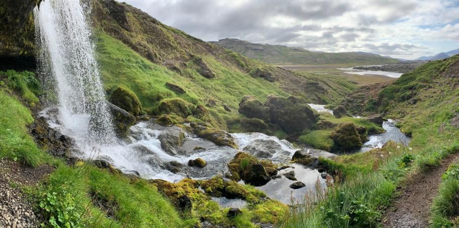 eau nature chute d'eau islande