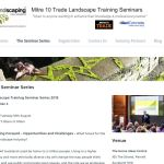 2015 Landscaping New Zealand Seminar Series Announced