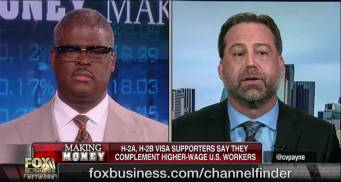 Chris Lee of Earthworks being interviewed by Fox Business talking about the H-2B issue.