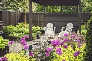 landscape trends: private backyard retreat