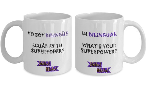 Bilingual Superpower mug