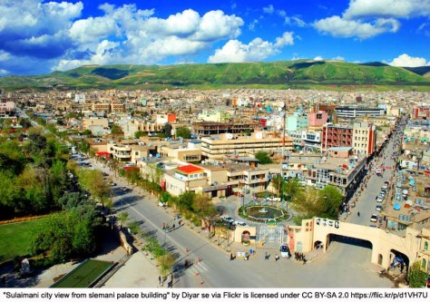 city view in kurdistan