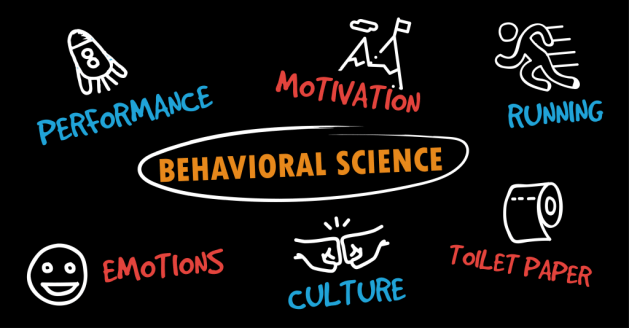 Emotions, Performance, Motivation, Culture, Running and more all involve Behavioral Science
