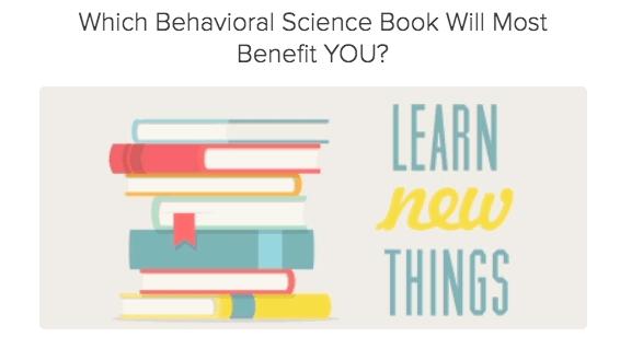 Behavioral Science Book Self Assessment