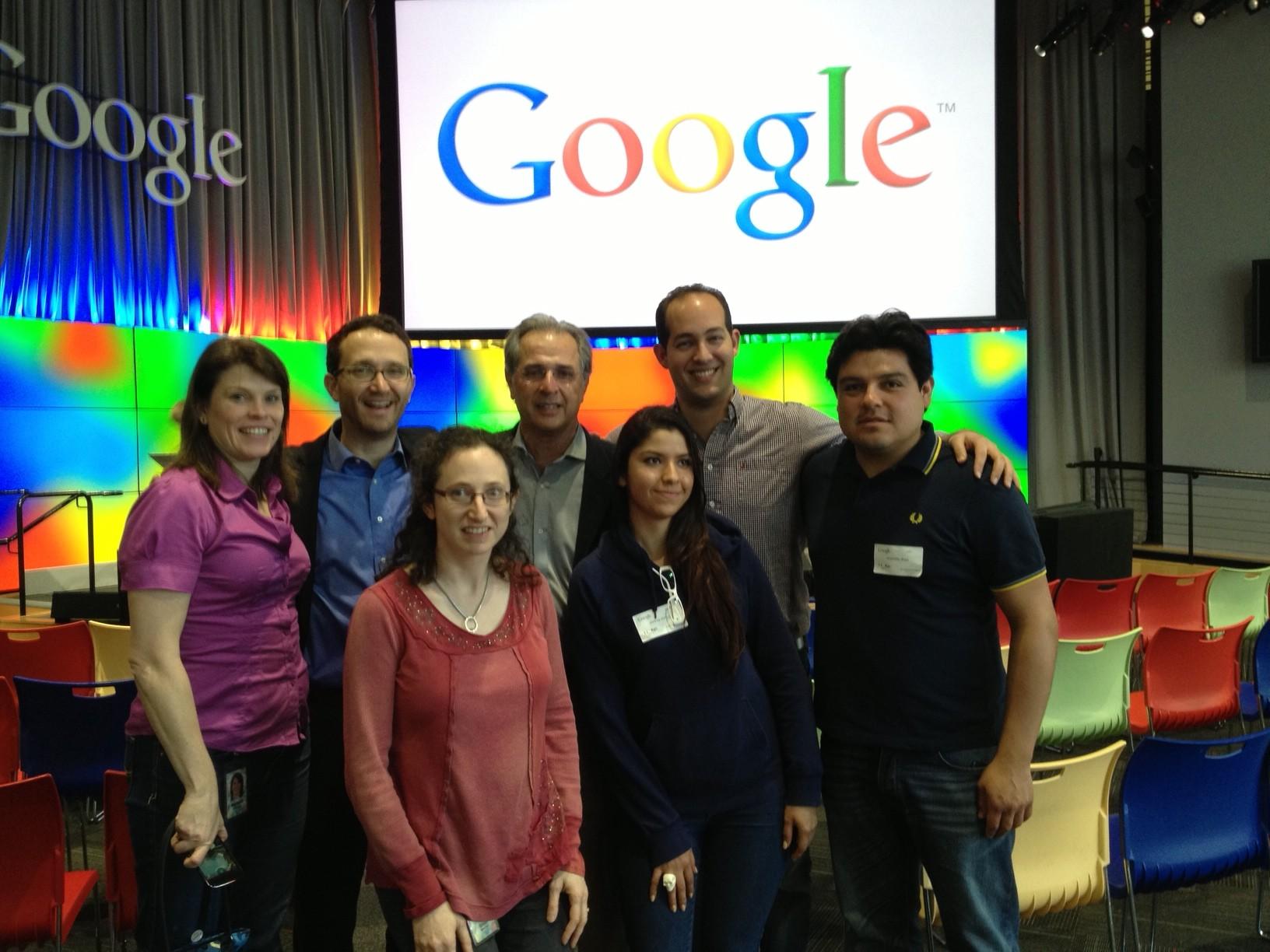GoogleTalks features Rodrigo Arboleda