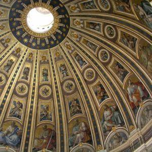 Vatikan-Kuppel Petersdom