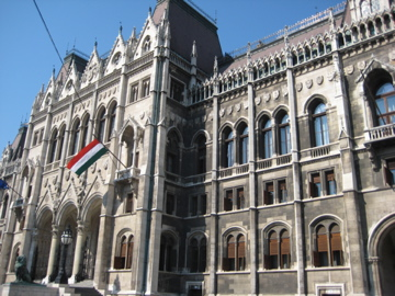 Das ungarische Parlament