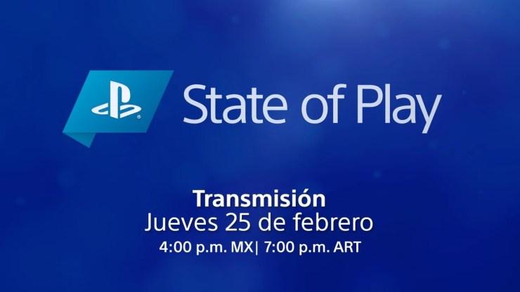 State of Play PS5 PS4 PlayStation anuncios tráileres juegos